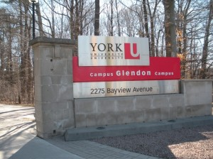 Glendon Entrance